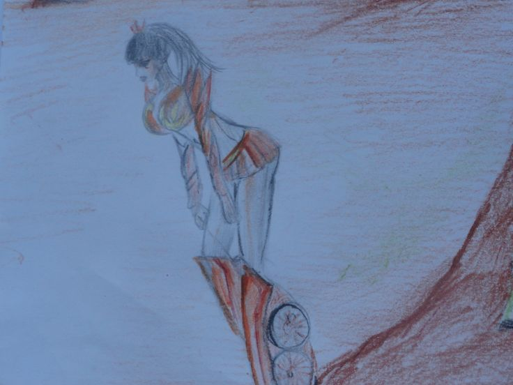 drawing made by me ! In the picture are Adelajde Prime .