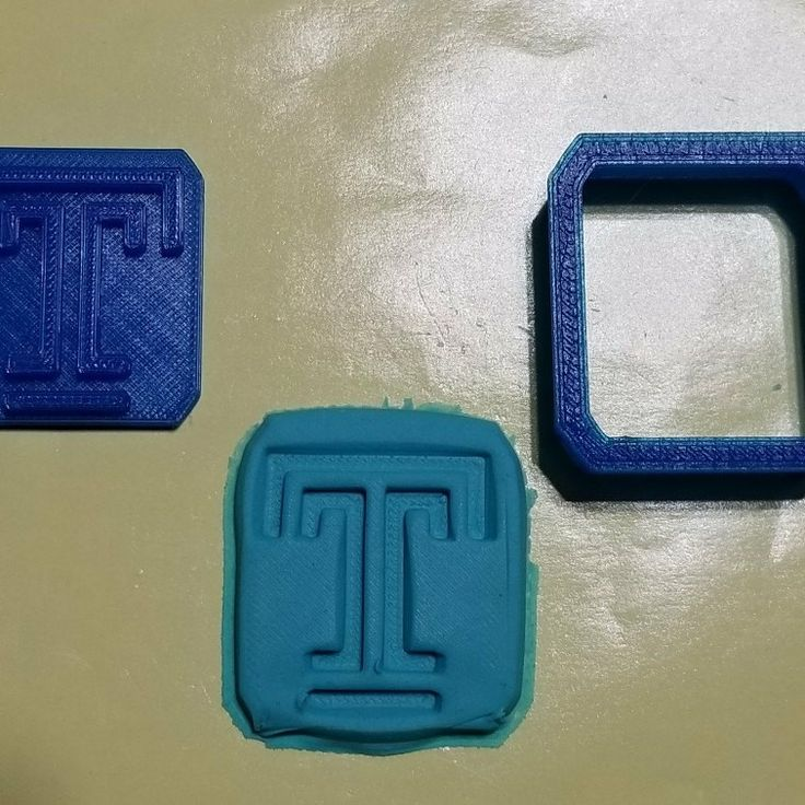 Let's Go Owls!!! Now available at CreationsByJMD, it's our Temple Logo cutter for cookies, fondant, candy, etc.. Great addition to go with our upcoming SC drink stirrers, cupcake pics, and hors d'oeuvres picks.