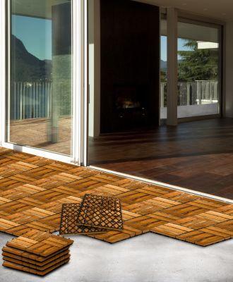 25+ Best Ideas About Holzfliesen Terrasse On Pinterest ... Holz Fliesen Auf Dem Balkon Verlegen