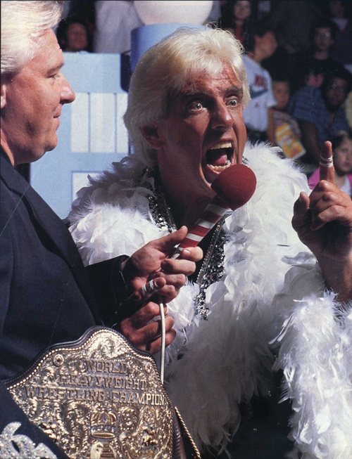 The Nature Boy Ric Flair and Bobby The Brain Heenan