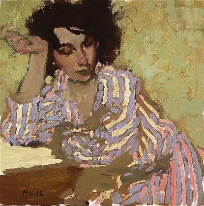 Milt Kobayashi, Alegra, oil on canvas.