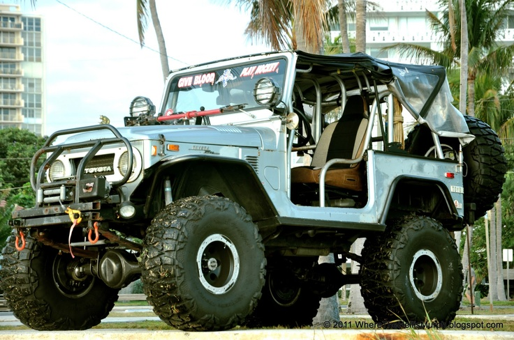 Toyota...we had one of these when I was a kid. Well not this cool looking, but similar. Lol