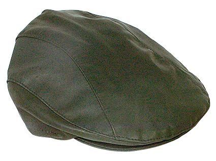 2500 Kangaroo Drivers Cap Black. Genuine Kangaroo Leather Drivers Cap by Jacaru.