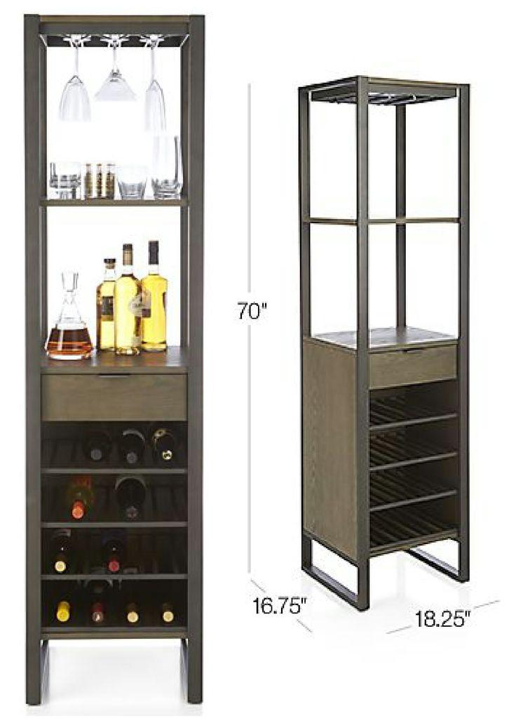 Cab Wine Tower $399.00 Stemrack Opening (3) Width: 3.25 ...