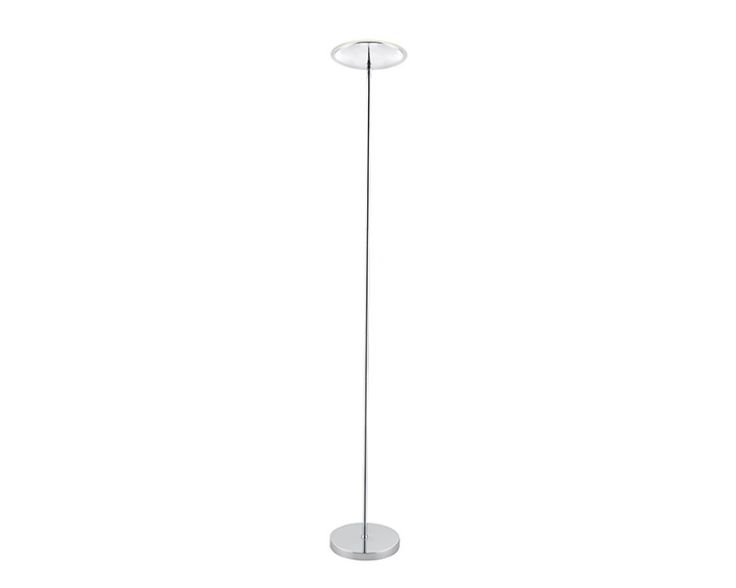 Endon 61138 Riga 20W LED Floor Lamp Chrome