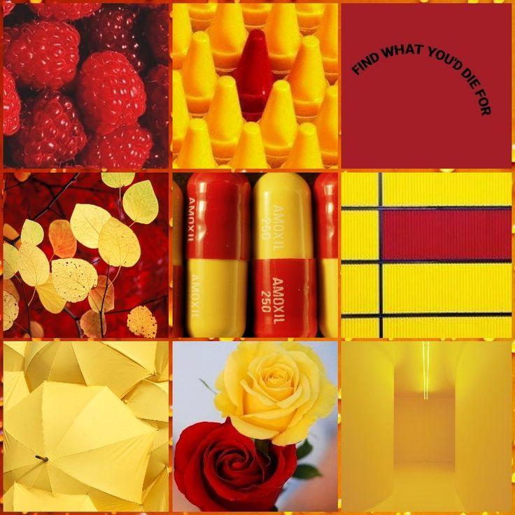 Red Yellow Aesthetic Yellow Aesthetic Red Yellow Color