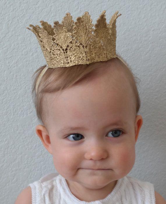 The Royal Court Crown Lace Princess Crown by PrideandPrincesses