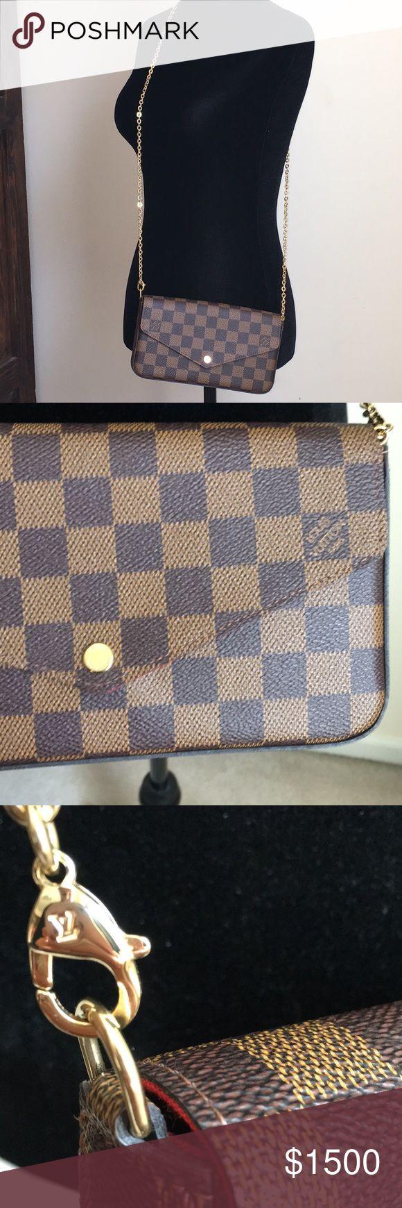 Louis Vuitton crossbody Felicie NWT 💯 authentic Louis Vuitton crossbody Felicie NWT 💯 authentic Louis Vuitton Bags Crossbody Bags