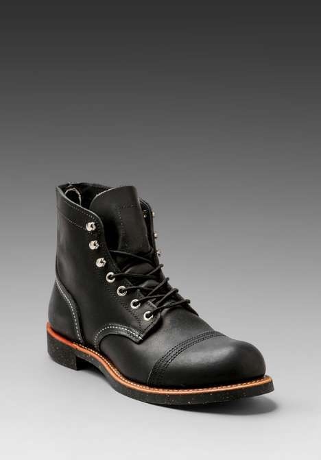 "Red Wing Shoes | Iron Ranger 6"" Iron Ranger #redwingshoes #boots"