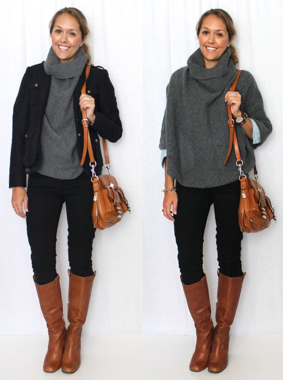 J's Everyday Fashion: Today's Everyday Fashion: Bundled Up