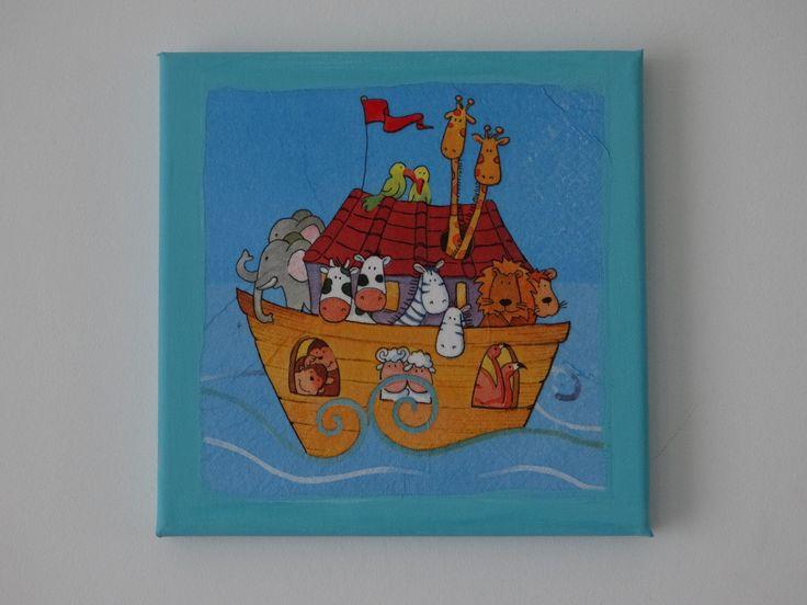 Chassis déco thème de l'arche de noé / zoo / animaux : Décorations murales par deco-pop   http://www.alittlemarket.com/decorations-murales/chassis_deco_theme_de_l_arche_de_noe_zoo_animaux-7061609.html
