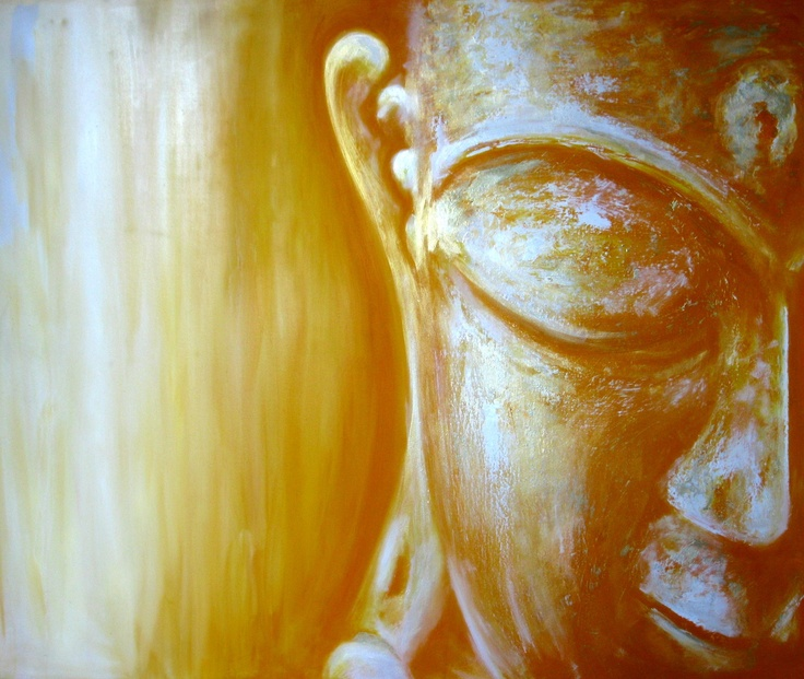 Buddha - Oil on canvas - www.buddha-painting.de