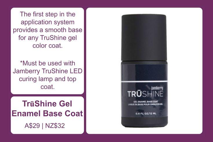 TruShine Gel Enamel Base Coat