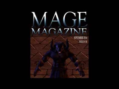 MAGE Magazine Issue 18 MAGE Magazine is a monthly magazine produced by artists…