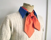 40in Ascot, Orange: be Fred from Scooby-Doo for your Halloween costume. $10.00, via Etsy.