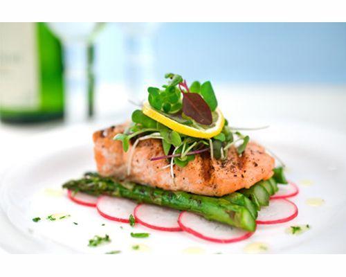 montaje de platos gourmet con salmon - Buscar con Google