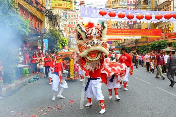 タイの旧正月。チャイナタウンではお祭りが。タイのおすすめ観光名所