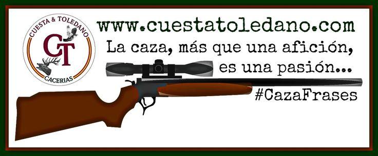 ¡¡Las mejores frases e imágenes de caza!!¡¡Vive tu pasión como nunca!! #CazaFrases #Monterías #Caza #CazaMayor #CazaMenor #Cinegética #Safaris #Corzos #Palomas #Cotos #CazaInternacional #MediaVeda #Frases #Citas