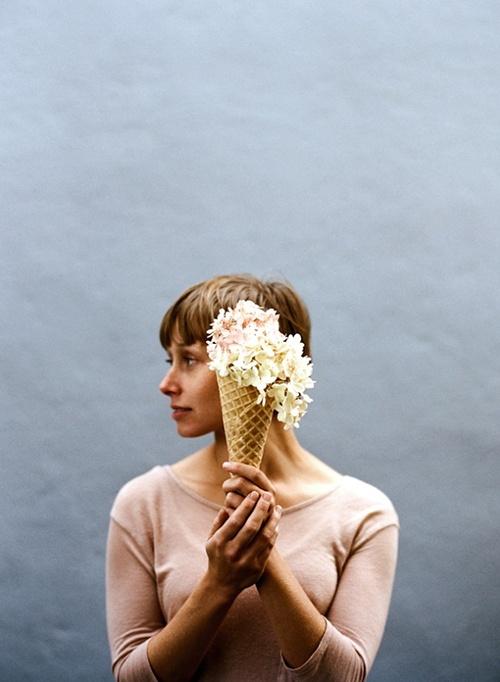 In the latest issue of Kinfolk - reinterpreting ice-cream