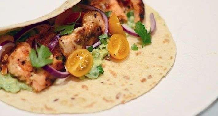 Vis Taco's met Zalm - Uit Pauline's Keuken