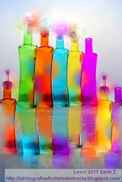 La Fotografía Efectista Abstracta. Fotos Abstractas. Abstract Photos.: Foto Abstracta 2761 Bebe de mis ilusiones - Drink of my illusions