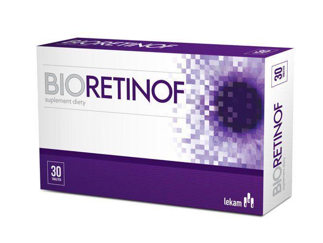 BIORETINOF x 30 tablets, best eye vitamins, bilberry extract