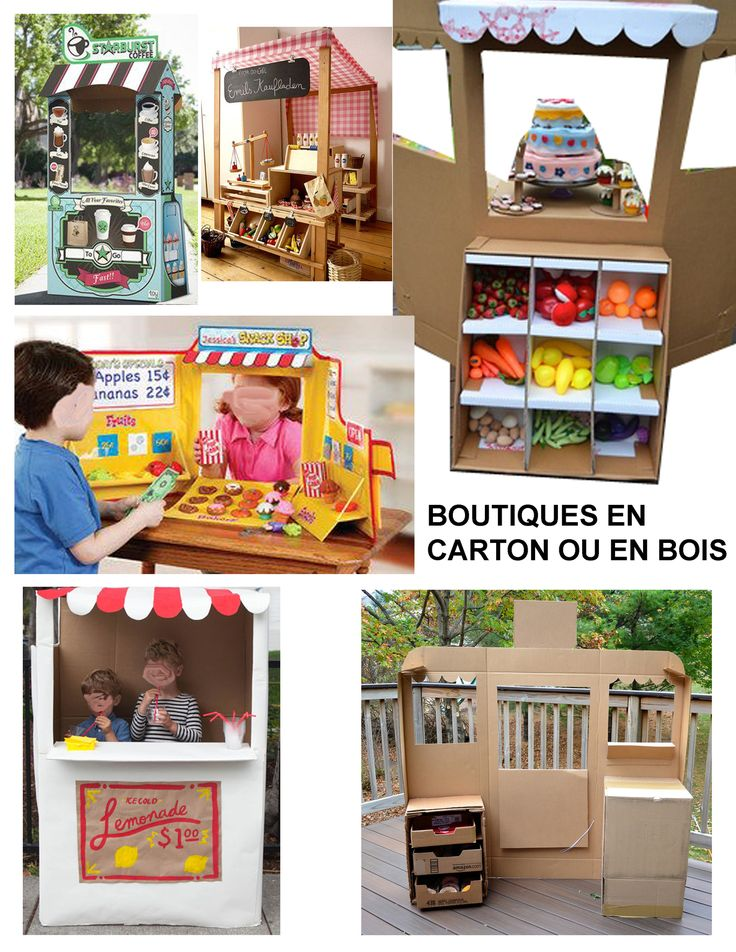 1000 id es sur le th me jouets en carton sur pinterest. Black Bedroom Furniture Sets. Home Design Ideas