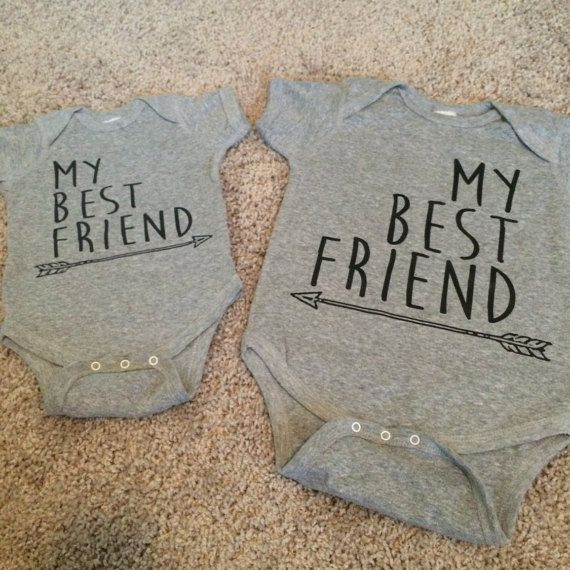 My Best Friend Onesies by TXchicApparel on Etsy