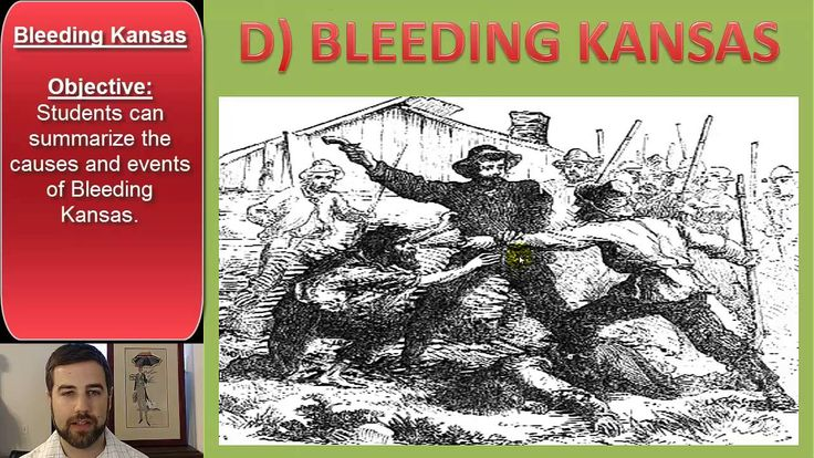 Kansas-Nebraska Act and Bleeding Kansas