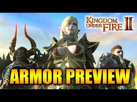 Kingdom Under Fire 2 - Armor and Character Customizing Trailer