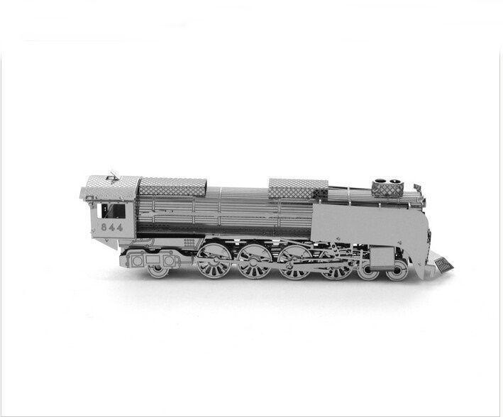 3D PUZZLE - Mini Figure metal Model Miniature toy Jigsaw -train MF011 #Unbranded