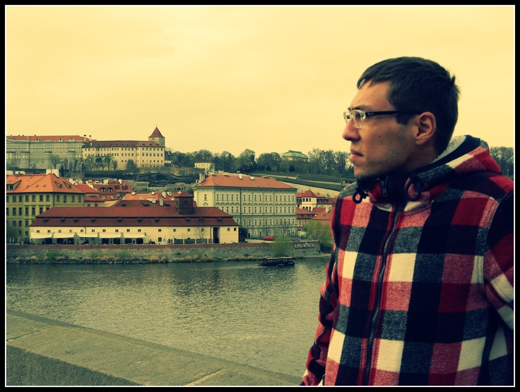 #Prague #Czech #Model #HakanYildiz #Actor #TV #Celeb #Film #New #2012 #travel #bridge