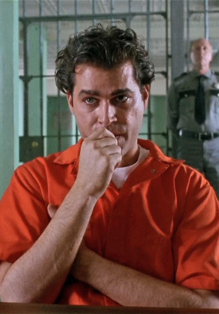 Goodfellas - Ray Liotta as Henry Hill doing a little jail time on Mafia Row #GangsterMovie #GangsterFlick