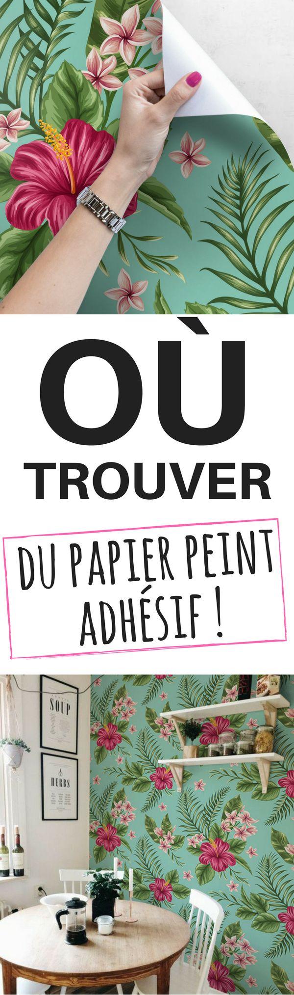 Le Papier Peint Adhésif et Autocollant : Le Guide Complet