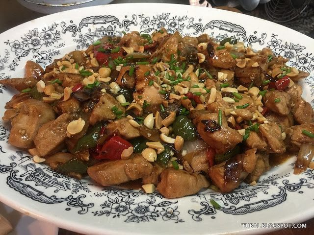 Pollo CHINO Kung Pao. TÚBAL