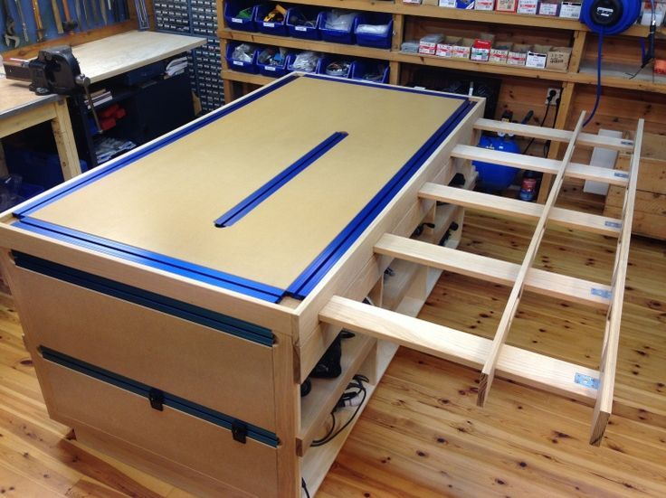 Workbench – Clamping table clever extension table …