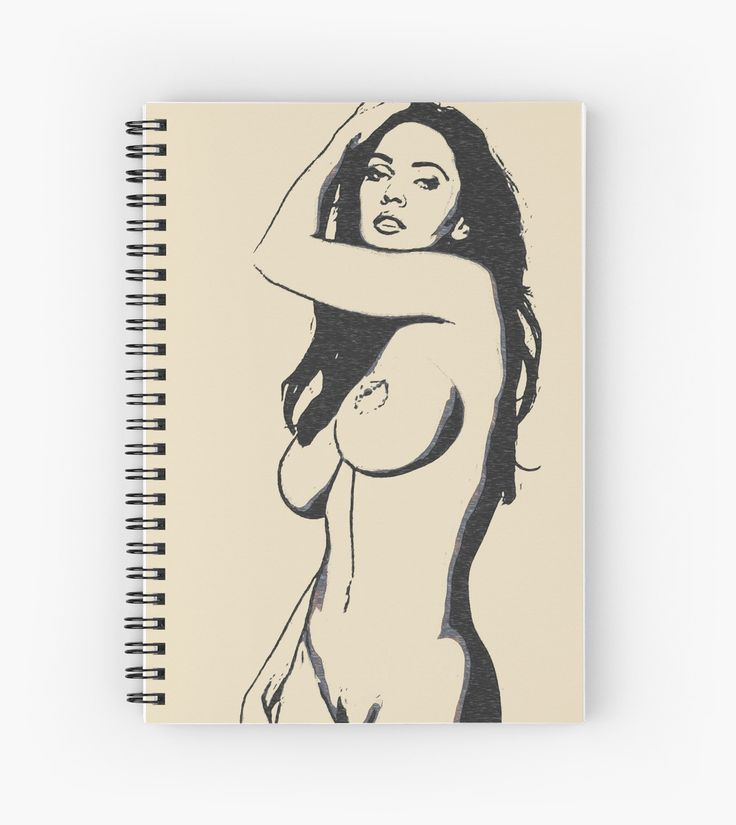 Perfect body angel, dark haired girl posing nude • Also buy this artwork on stationery, apparel, stickers, and more.