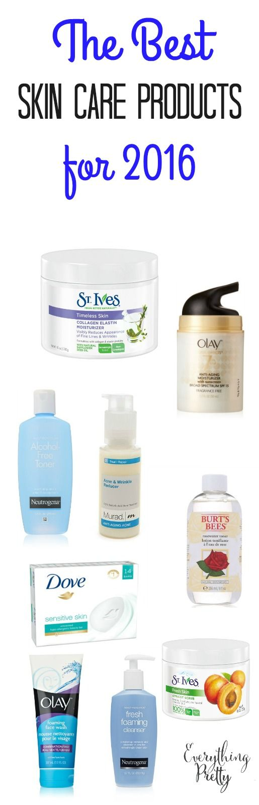 The Best Skin Care Products For 2016   Everything Pretty via www.yourbeautyblog.com