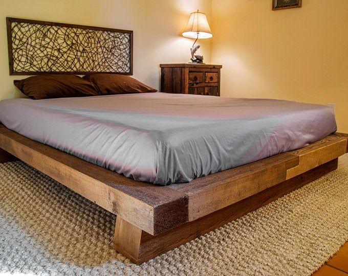 Wood Bench Shou Sugi Ban Rustic Wood Bed Rustic Wood Bed Frame Wood Bed Frame