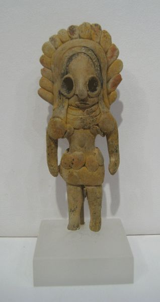 Indus Valley Terracotta Figurine of a Fertility Goddess - LO.567  Origin: Pakistan/Western India  Circa: 2600 BC to 1900 BC
