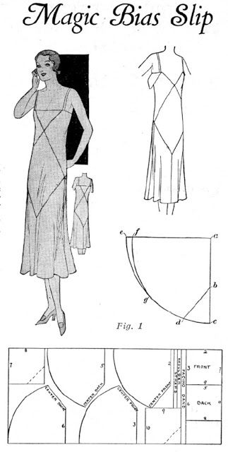 Rhonda's Creative Life: magic bias dress