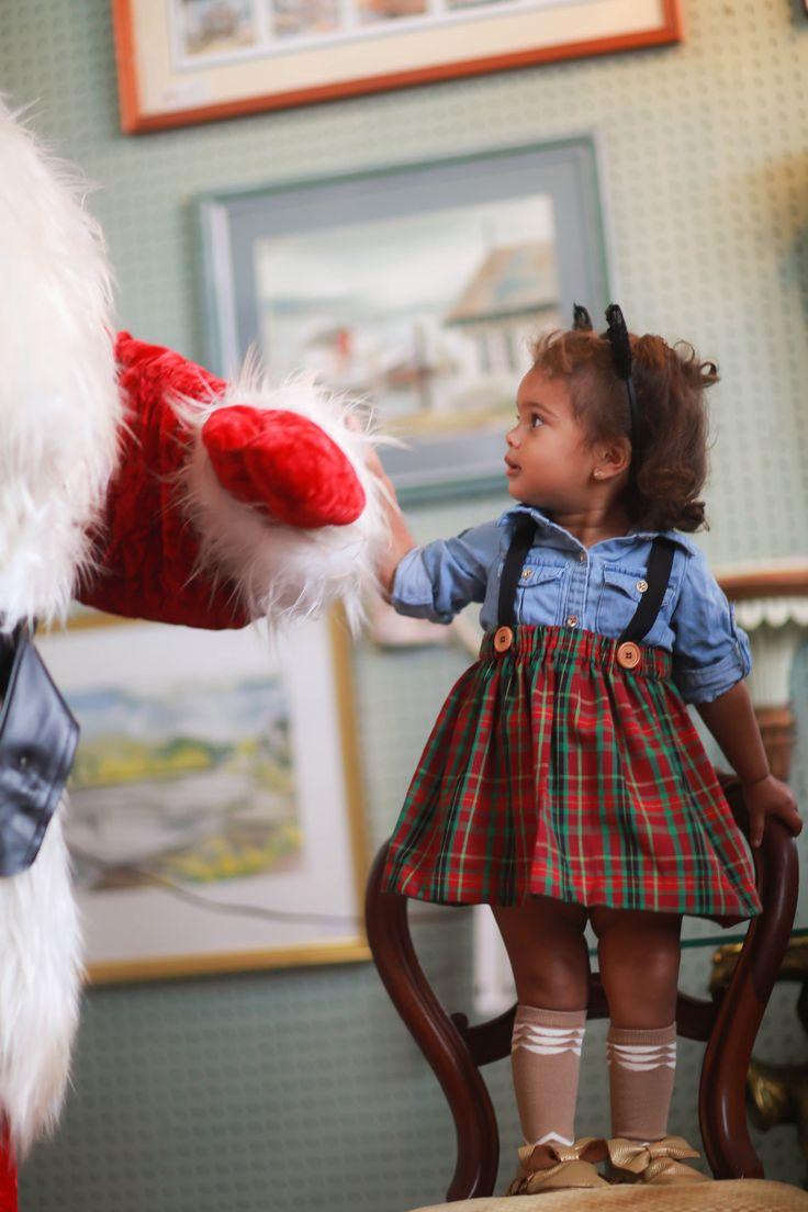 Red Plaid Skirt for Toddler Girl