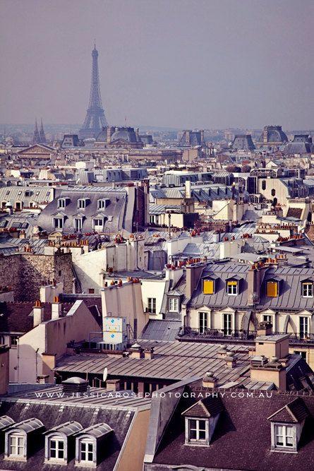 Eiffel Tower PARIS Eiffel Tower Paris Landscape Paris Photography by jessicarosephoto