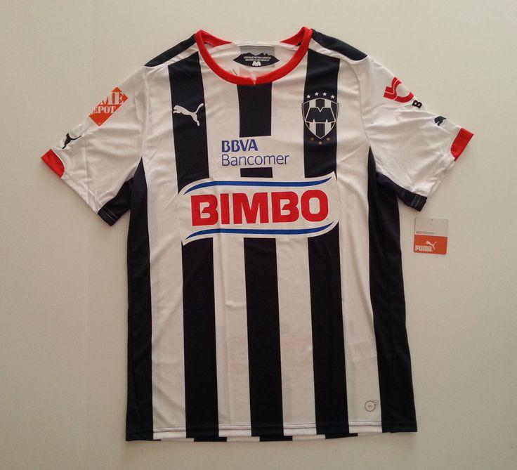 MONTERREY FUTBOL CLUB SOCCER HOME PUMA REPLICA JERSEY SHIRT (LARGE) -- NEW #PUMA #Jerseys