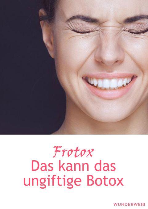 Frotox soll Botox ablösen und mindestens ebenso gut gegen Falten helfen.