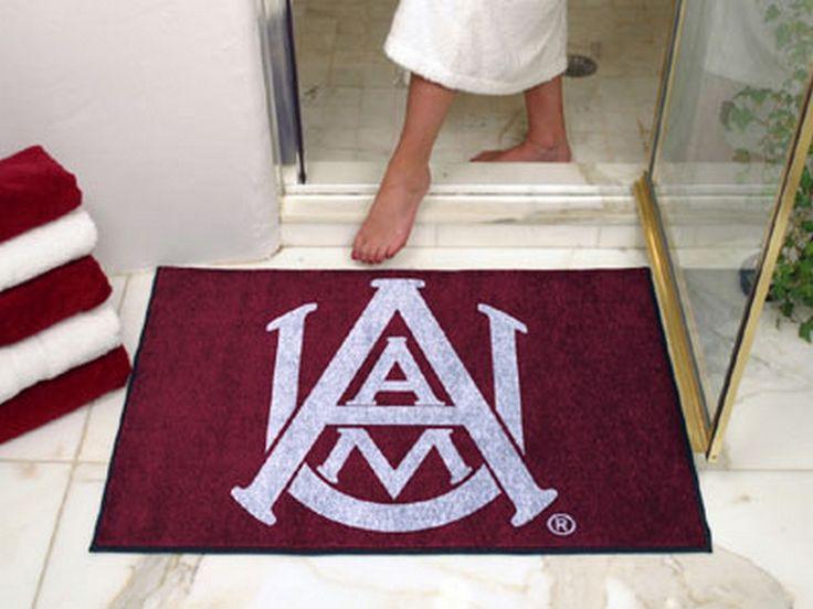 """Alabama A & M Door Mat Floor Rug Doormat 34"""" x 43"""""""