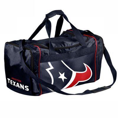 Houston Texans Core Extra Small Duffle Bag - Navy Blue