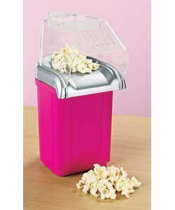 pink Popcorn Maker  Size (H)20, (W)14.5, (D)30cm.  http://www.comparestoreprices.co.uk/kitchen-gadgets/pink-popcorn-maker.asp #popcornmakers #popcorn #gadgets #kitchengadgets #makepopcorn #giftideas #christmas2014 #christmasgifts #giftforher #giftsforwoman #girlsgifts