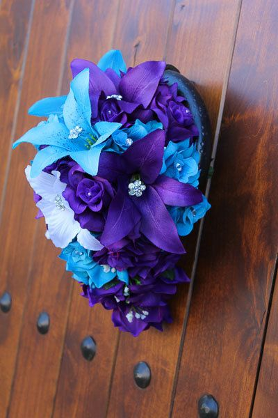 Stargazer Bouquet by PAnDAFloral on Etsy