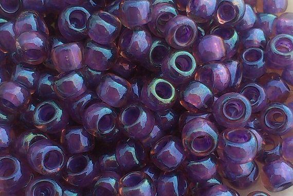 Toho Seed Beads 6/0 Inside-Colour by GatewaytoBeads on Etsy